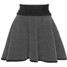 Tabula Rasa Kosso Circle Skirt ($350) ❤ liked on Polyvore featuring skirts, flared skirt, circle skirt, black high waisted skirt, print skater skirt and black flared skirt