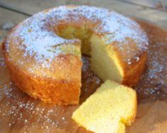Bolo de Fuba - Brazilian Cornmeal Cake: Bola de Fuba - Brazilian Cornmeal Cake