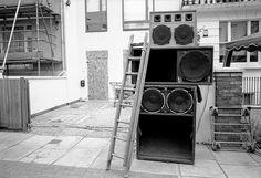 reggae sound system, notting hill carnival, london