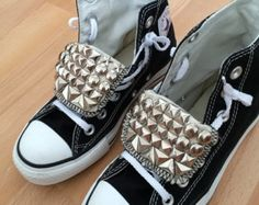 d59f51b59e82 Bridal Prom Customised Converse Trainers All Stars Bling Shoes