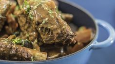 Squid ink pasta with tomato spring onion asian food channel try this beef stew recipe by sarah benjamin from cooking for love forumfinder Choice Image