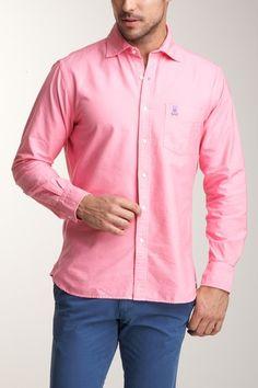 Men wear pink too
