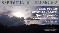 SALMO 46:8 -  GUYANA FRANCESA -  PIC BY: JOHANNITA MORALES