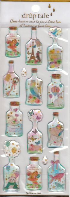 Drop Tale  Bottled Animal Glittered Deco by SweetSuppliesStore, ¥290