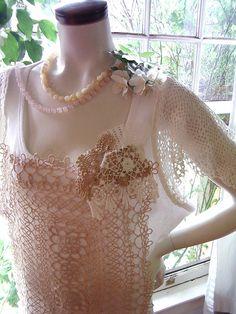1920s romance plus size fashion shirt top blouse summer wedding wear 20s  tatting