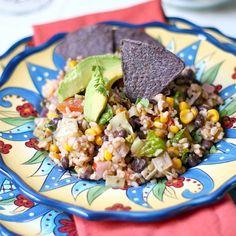 Healthy 10 Minute Vegetarian Taco Salad Recipe on Yummly. @yummly #recipe