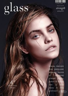Cover of glass UK with Barbara Palvin, March 2014 (ID:29102)| Magazines | The…