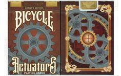 Bicycle Actuators Playing Cards Artist's Edition. $26.95. #playingcards #poker #games