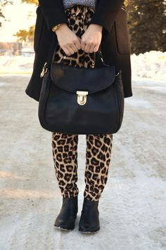 bornlippy // leopard & leather