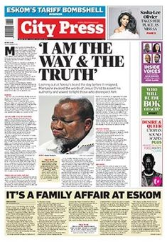 How senior Eskom manager Danie Odendaal's brother bagged contracts worth over Sunday Newspaper, City Press, Word Board, Business Pages, Family Affair, Investigations, Politics, Digital, Words