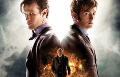 The League of Austen Artists: David Tennant, Matt Smith: Doctor Who Anniversary Special - what we know so far I Am The Doctor, 11th Doctor, Steven Moffat, Peter Capaldi, Jenna Coleman, Anniversary Photos, 50th Anniversary, Doctor Who Specials, Doctor Reviews