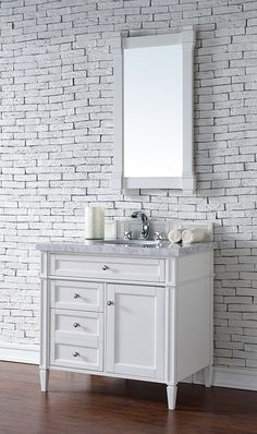 Web Image Gallery Metro tiles sink vanity unit chest of drawers roll top bath