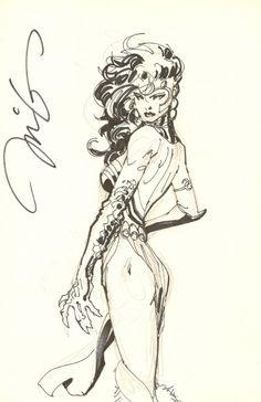 Jim Lee - Voodoo, in BradleyHatfield's Jim Lee Comic Art Gallery Room - 448227