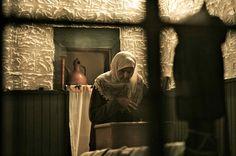 Old woman praying, Bosnia and Herzegovina // by Sulejman Muratovic Bosnia And Herzegovina, Old Women, Faith, Homeland, Painting, Beautiful, Islam, Ethnic, Peace
