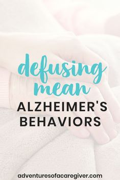 6 Ways to Defuse Anger in Alzheimer's Patients Caregiver tested strategies to manage mean behaviors and anger that come with Alzheimer's. Alzheimer Care, Dementia Care, Alzheimer's And Dementia, Elderly Activities, Senior Activities, Spring Activities, Work Activities, Easter Activities, Montessori Activities