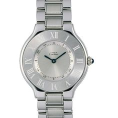 Discover a large selection of Cartier 21 Must de Cartier watches on - the worldwide marketplace for luxury watches. Compare all Cartier 21 Must de Cartier watches ✓ Buy safely & securely ✓ Cartier Watches Women, Rolex Watches, Watches For Men, Wrist Watches, Rolex Datejust, Cartier Calibre, Cartier Jewelry, Stainless Steel Watch, Watch Brands