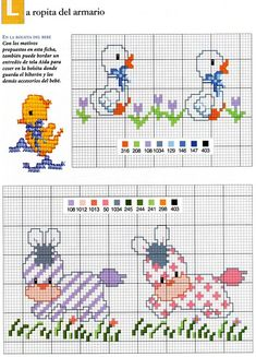 - Cross Stitch For Kids, Just Cross Stitch, Cross Stitch Baby, Cross Stitch Animals, Cross Stitch Borders, Cross Stitching, Cross Stitch Embroidery, Deer Crossing, Funny Cross Stitch Patterns
