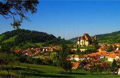 Village Biertan in southern Transylvania.  (photo by Nicu Hoandra)