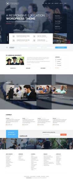 Education WordPress Theme for Schools, universities, colleges