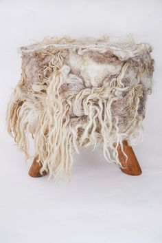 home collection couture, foot-stools : the soft world – Beatrice Waanders Home Couture