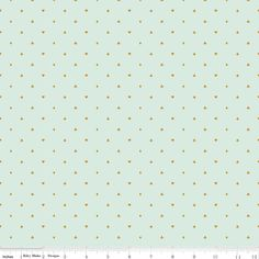 Cards in Mint Sparkle Cotton Fabric from the Wonderland 2 Collection by Melissa Mortenson for Riley Blake Fabrics