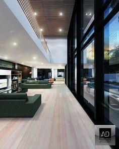 Mr Studt: Stunning Modern Box House Visualized by Arcodec Design ᴷᴬ