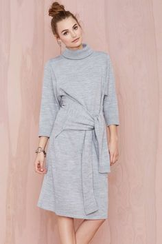 Knot Me Sweater Dress