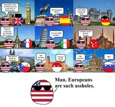 Great Britan Espana Germany France Italy Turkey Czech Republic Monaco Russia USA Eurpeans