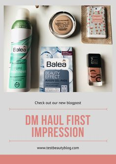 We always keep you posted about new events. Today I wanna show you, what I recently bought. Ein neuer DM Haul + First Impression ist nun auf unserem Blog online. www.testbeautyblog.com