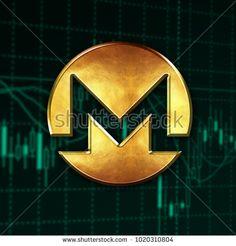 Monero logo digital cryptocurrency