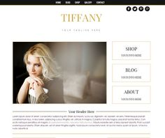 """Boutique Website, Blog, Shop -  Instant Download - Weebly Theme - """"Tiffany"""" -   A clean, stylish design for your photography,  products and blogging.  TEMPLATE FEATURES Custom Sticky Navigation Custom Tagline Custom Search Custom Color Hover Social Media Icons Custom Read More Button Custom Round Profile Image Custom Sidebar Headings Custom Product Social Media Icons Custom Buttons Custom Blog Layout Pinterest Hover Button  SAMPLE SITE:  See it here: http://tiffanybwd.weebly.com  Use your…"""