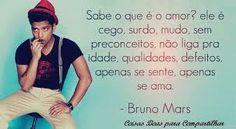frases de músicas: Bruno Mars
