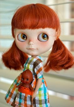 Image of Custom Blythe doll by Tati68