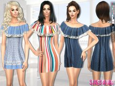 Lana CC Finds - Created By sims2fanbg 189 - Summer dress Created...