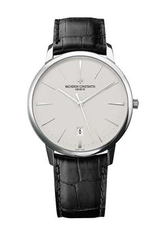 Shop Vacheron Constantin Patrimony Self-Winding Mens Watch at Chisholm Hunter. Browse our collection of Vacheron Constantin luxury watches and enjoy Free Delivery and 2 Years Manufacturer's Guarantee. Cool Watches, Rolex Watches, Gentleman Watch, Vacheron Constantin, Swiss Army Watches, Hand Watch, Luxury Watches For Men, Beautiful Watches, Vintage Watches