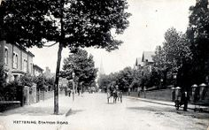 Station Road, Kettering circa 1906