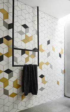 Image result for scandinavian geometric backsplash