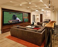 TRG Architects || PORTFOLIO | Los Altos Hills Remodel - Love the life edge sofa table