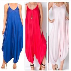 Chic jumpsuit ONE DAY SALE Best selling Best fitting jumpsuit in new colors PLEASE USE Poshmark new option you can purchase and it will give you the option to pick the size you want ( all sizes are available) BUNDLE And SAVE 10% ( sizes updated daily ) AVAILABLE IN ROYAL PINK CORAL Dresses