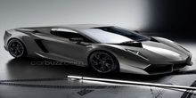 Lamborghini Cabrera digital illustration