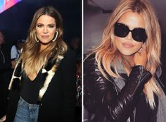 Khloe has recentlydecided to ditchher signature ombrefor a bolder, blonder look.   - Redbook.com