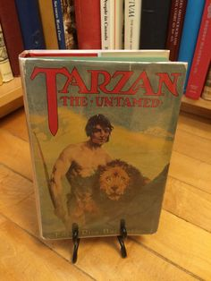 Tarzan The Untamed by Edgar Rice Burroughs / by GreenfieldBooks
