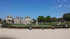 Dans Le Jardin du Luxembourg