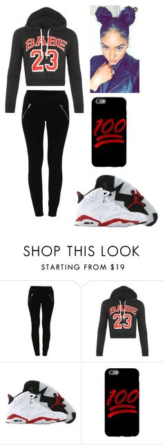 """""""Babe"""" by lexiswagg on Polyvore featuring VILA, WearAll and Retrò"""