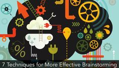 7 Techniques for More Effective Brainstorming (#tips)