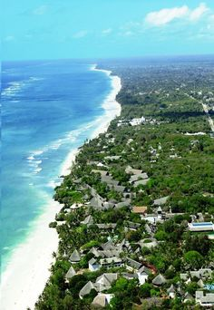 Diani Beach, south coast of Kenya. 25 km long stretch of fantastic white beaches and turquoise Indian ocean. To view exclusive holiday villas in Diani beach click here: http://villasdiani.com/rent/ #Kenya #Africa #beach