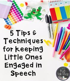 Keeping little ones engaged in speech therapy can be tricky! Read these tips. Keeping little o Preschool Speech Therapy, Preschool Age, Speech Therapy Activities, Speech Language Pathology, Speech And Language, Preschool Songs, Language Activities, Shape Activities, Articulation Therapy