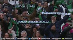 Filmato su football soccer fan calcio serie a sassuolo supporter neroverdi tifosi curva sciarpa via diggita #SerieA