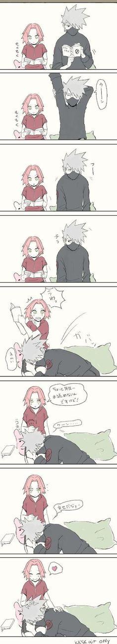 Kakashi and sakura: