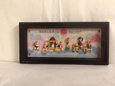 Korean Traditional Wedding March Shadow Display Box Ready to Hang